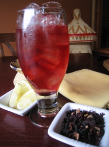 Hibiscus Iced Tea Photo