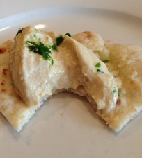Hummus and pita that didn't last long at Zorba in Wayne, NJ