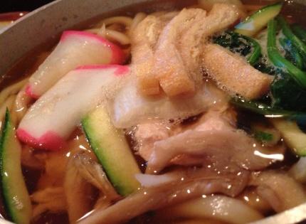 Nabe yake udon soup