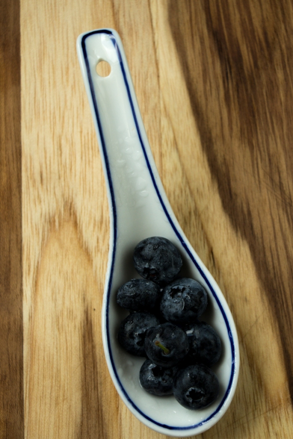 Blueberries-in-a-Spoon